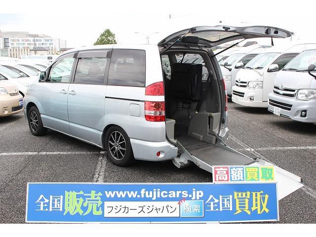 トヨタ X Vセレクション 車いす移動車 リアスロープ 左パワスラ
