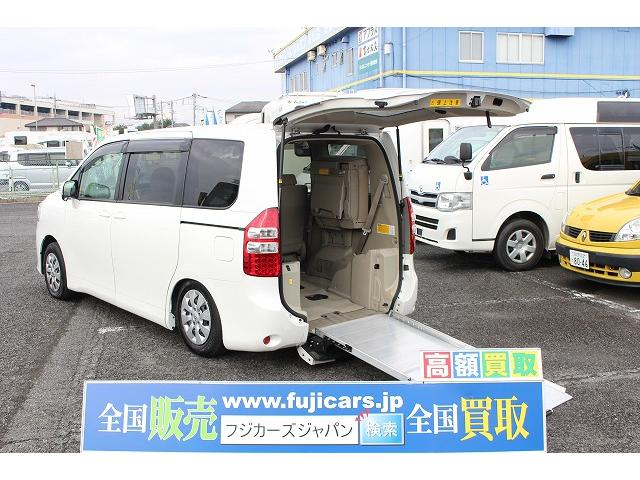 トヨタ 2.0X-Lウェルキャブ スロープII3rdシート付 ナビ