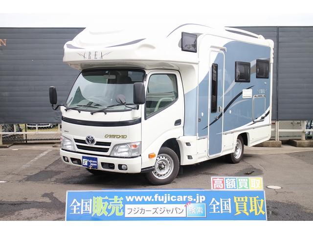 トヨタ キャンピング ナッツRV クレア5.3X 4WD 常設ベッド