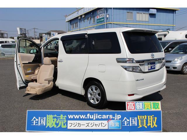 トヨタ 2.4Xウェルキャブ助手席リフトアップシート Aタイプ ナビ