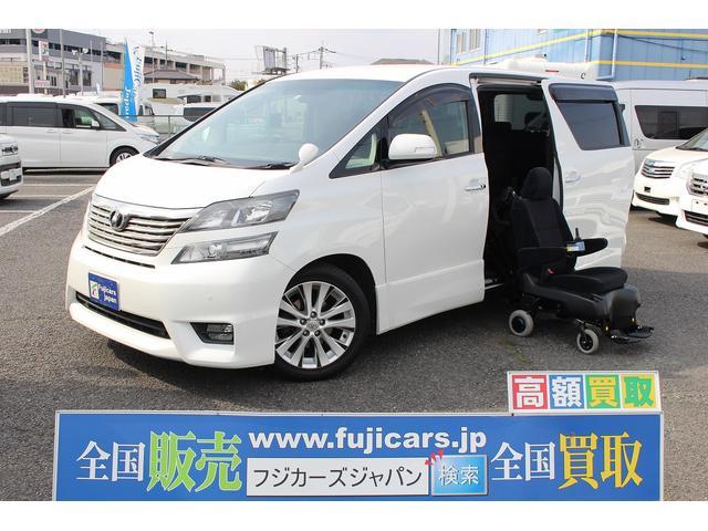 トヨタ 3.5Z サイドリフトアップシート脱着タイプ電動式4WD
