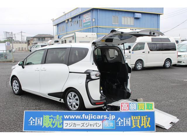 トヨタ 1.5Xウェルキャブ 車いす仕様車スロープ1 2ndシート付