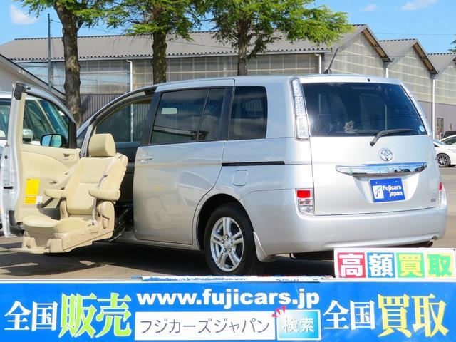 トヨタ アイシス L ウェルキャブ助手席リフトアップシート車 パノラマタイプA