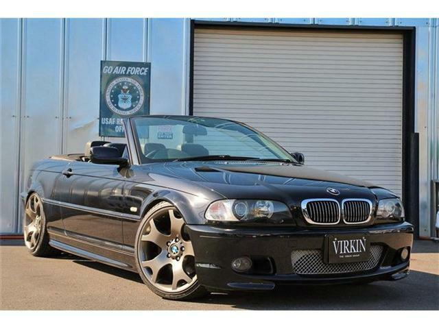 BMW 3シリーズ 330Ciカブリオーレ Mスポーツパッケージ 19AW 車高調 ブラックレザー HID 記録簿