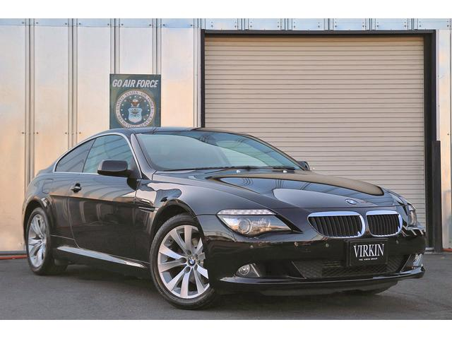 BMW 6シリーズ 630i 630i(4名)ブラックレザー idriveナビ クルコン パドルシフト コーナーセンサー HIDライト 18インチアルミ ETC シートヒーター