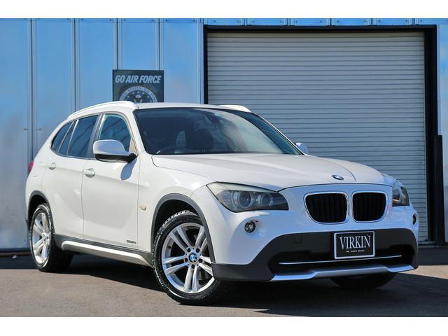 BMW X1 sDrive 18i コンフォートアクセス カロッツェリアナビ フルセグ HIDライト 17インチアルミ ETC