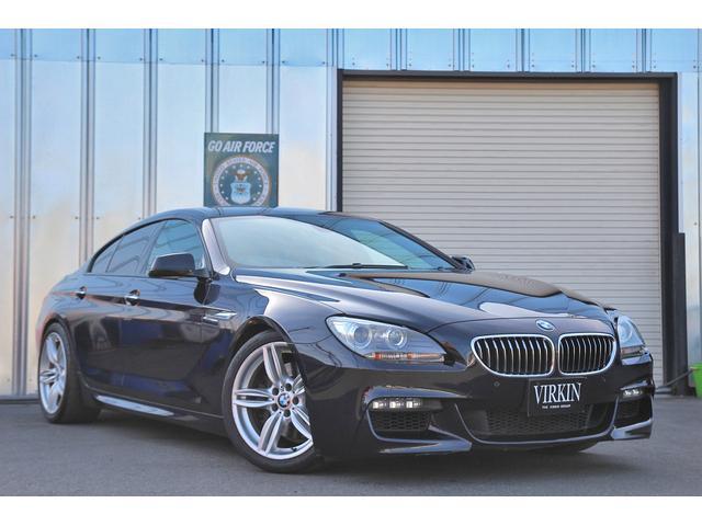 BMW 640iグランクーペ Mスポーツパッケージ ブラウンレザー パノラマルーフ idriveナビ フルセグTV コンフォートアクセス クルコン パドルシフト Cソナー HIDライト 19インチAW シートヒーター DVD再生 Bluetooth