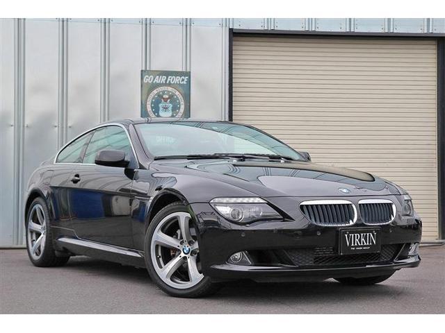BMW 6シリーズ 630i 後期 電子シフト コンフォートアクセス 黒革 サンルーフ ナビ Bカメ オプション19インチアルミホイール