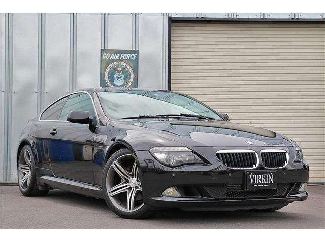 BMW 6シリーズ 630i 後期 電子シフト WALD19AW 車高調 ナビTV 黒革 コンフォートアクセス