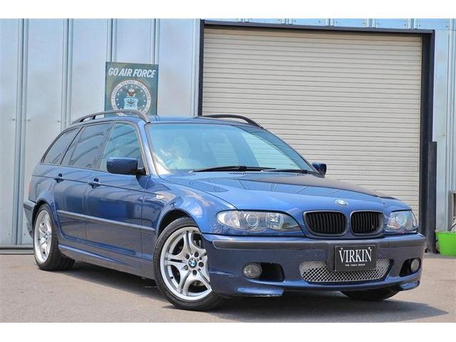 BMW 325iツーリング Mスポーツパッケージ 後期モデル 2.5L直列6気筒 Mスポーツ専用装備 純正HIDライト ブラックキドニーグリル