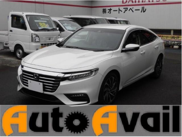 インサイト(ホンダ) EX 純正ナビ TV ETC 前後ドラレコ 中古車画像