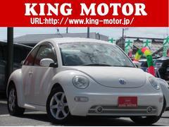 VW ニュービートルベースグレード 天張り張替済み車 本革シート
