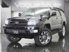 ハイラックスサーフSSR−X4WD ナビ LEDブラックテール リフトアップ