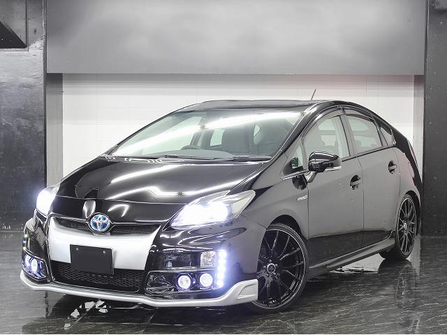 トヨタ S 地デジナビ 新品ツインフォグエアロ ファイバーLED