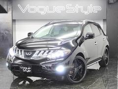 ムラーノ250XV4WD黒革サンルーフ 新品AW車高調6連イカリング