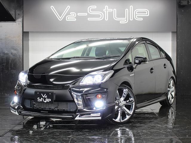 トヨタ S後期モデル Gs仕様新品エアロ LED4連イカリング