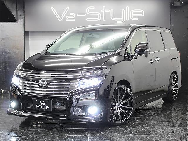 日産 250XG 地デジ電動S 新品エアロ ファイバーLEDライト