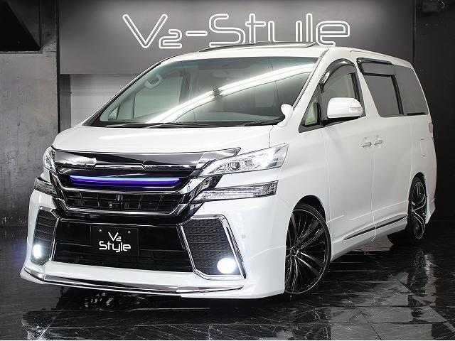 トヨタ 2.4Z両側電動S サンルーフ 現行仕様フルカスタム 車高調