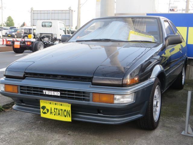 トヨタ GT APEX3ドア後期 イントラアルミ 純正リアスポ