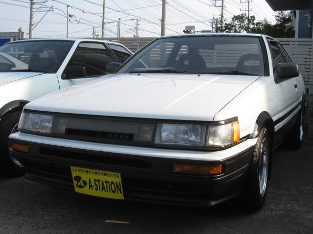 トヨタ GT-APEX トラスト車高調 タコ足マフラー 機械式LSD
