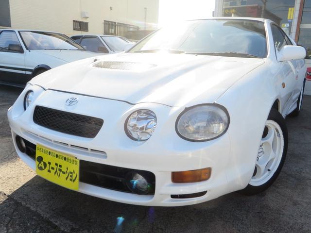 トヨタ GT-FOUR TEIN車高調 社外マフラー16インチアルミ