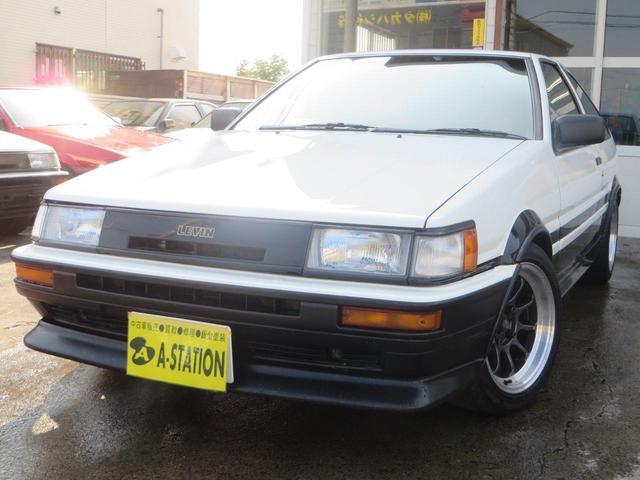 トヨタ GT APEX AE111ツインカム20黒ヘッド4AG搭載