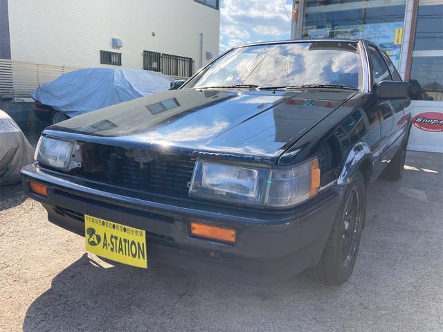 トヨタ カローラレビン GT APEX 社外ステンレスマフラー 機械式LSD