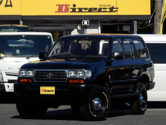トヨタ ランドクルーザー80 VXリミテッド最終型 角目4灯ナローNEWペイント新品3UP