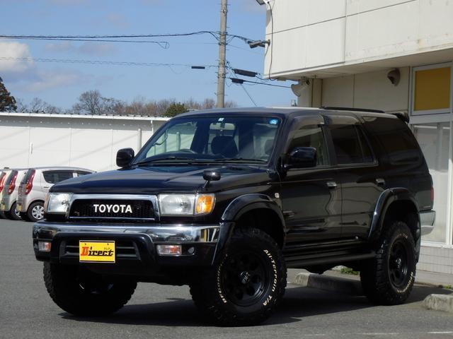 トヨタ SSR-V後期型ブラックナビゲーター新品2インチUP 4WD