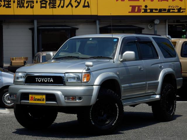 トヨタ ハイラックスサーフ SSR-X 後期型マニュアル新品AWタイヤ新品3UP4WD
