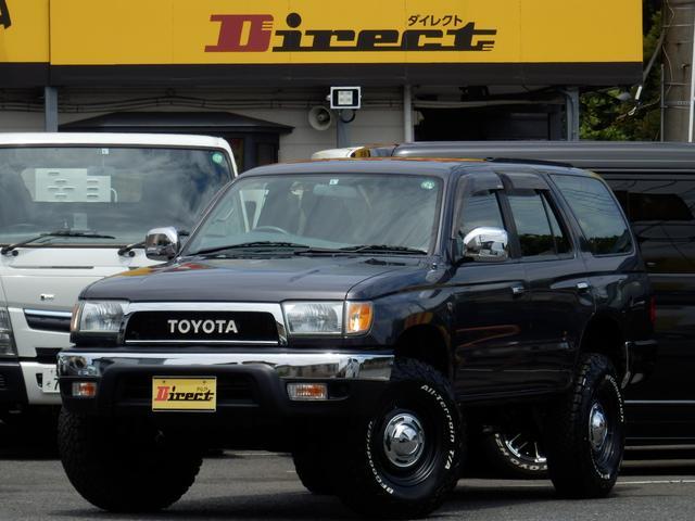 トヨタ ハイラックスサーフ SSR-X Vセレ後期型ナロークラシックNEWペイント4WD