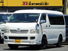 ハイエースワゴンDXパワスラ装備ワンオーナー禁煙車4WD