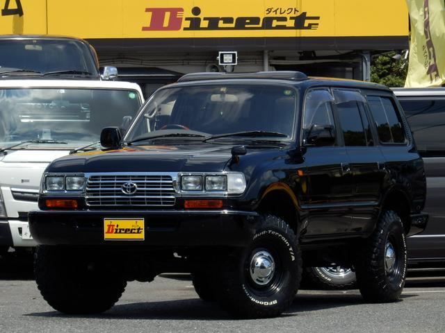 トヨタ ランドクルーザー80 VXリミテッド中期型角目4灯クラシックナロー3インチUP