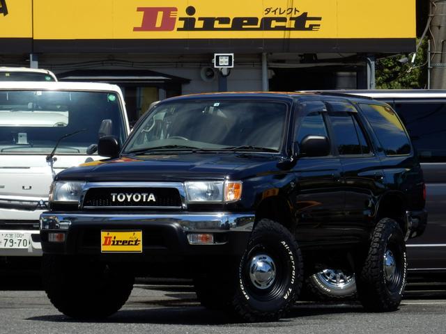 トヨタ ハイラックスサーフ SSR-V最終型ナロークラシック新品2インチUPワンオーナー