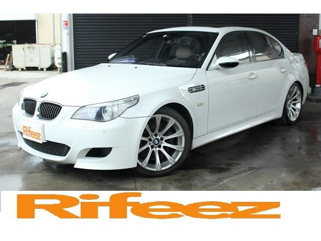 BMW M5 左H サンルーフ 白革 シートヒーター&クーラー