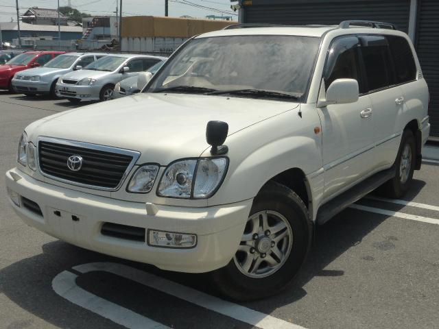 トヨタ 4.7シグナス 4WD サンルーフ 革シート ワンオーナー