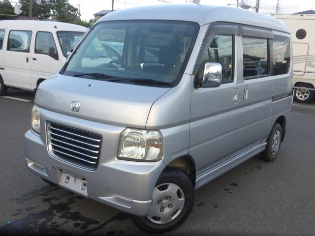 ホンダ バモスホビオプロ  4WD  新品タイヤ4本付き!