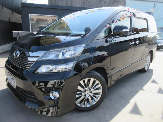 トヨタ 3.5Z Gエディション4WD 本革エグゼクティブ デカナビ