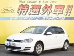 VW ゴルフTSIトレンドラインブルーモーションテクノロジー ナビ