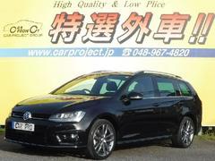 VW ゴルフヴァリアントRライン SDナビ フルTV Bカメ 軽減ブレーキ ACC