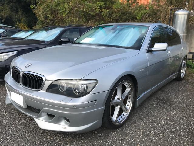 BMW 7シリーズ 750Li エアロ サンルーフ シートヒーター ETC付き