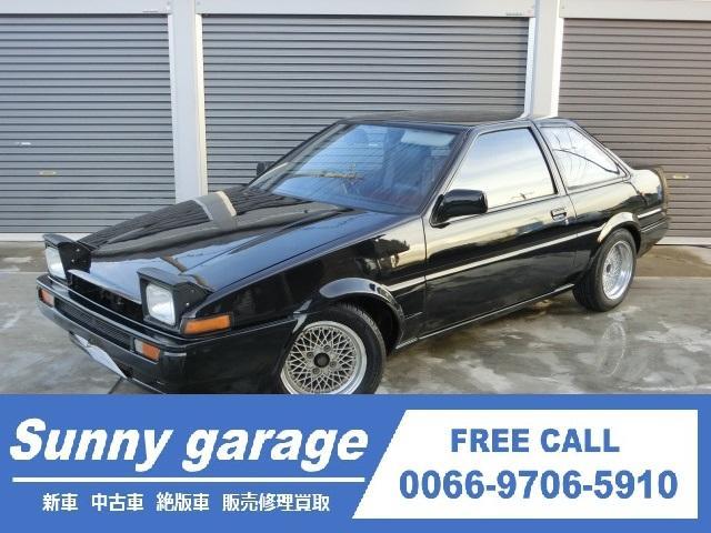 トヨタ GT APEX ブラック全塗装済み 社外マフラー 内装付き