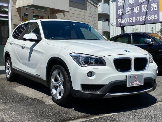 BMW sDrive 18i ワンオーナー メーカー純正HDDナビ 黒革調シートカバー オートHID フォグランプ スマートキー2個 W&サイドエアバッグ ミラー内臓ETC MTモード 車・ナビ取説 横滑防止装置