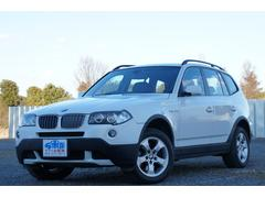 BMW X3xDrive 25i 4WD HDDナビ 本革 ETC