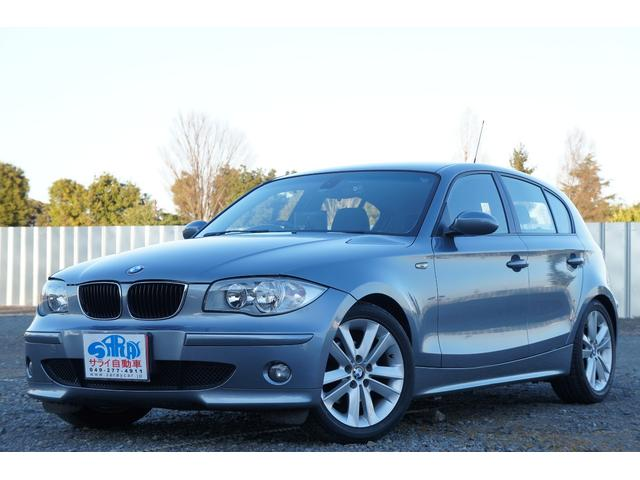 BMW 120i HDDナビ ETC プッシュスタート アルミ
