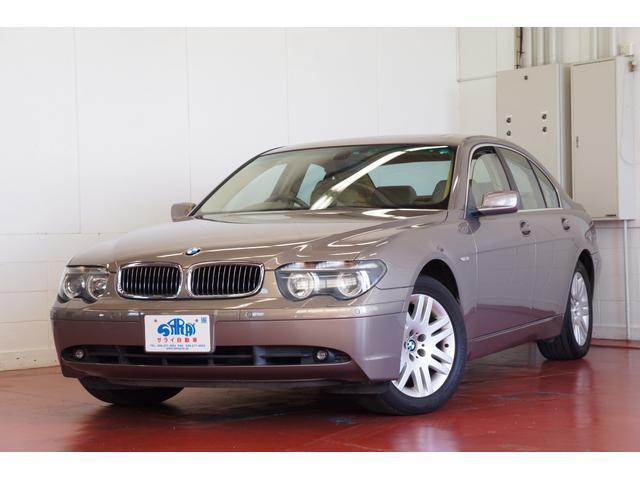 BMW 745i シートエアコン&ヒーター 電動Rゲート ETC付き