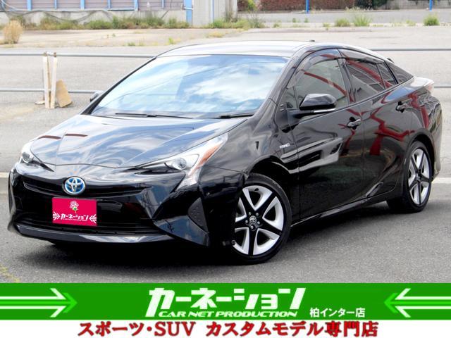 トヨタ Sツーリングセレクション レザー 純17AW&エアロ LED