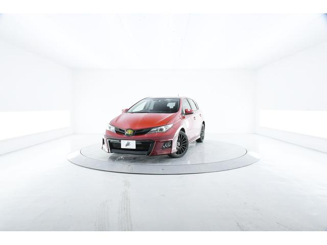 トヨタ オーリス RS Sパッケージ 6MT シャア専用 専用ナビ900台 ガラスROOF