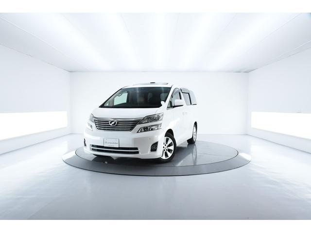 トヨタ 3.5V Lエディション サンルーフ 本革シート 後席モニ
