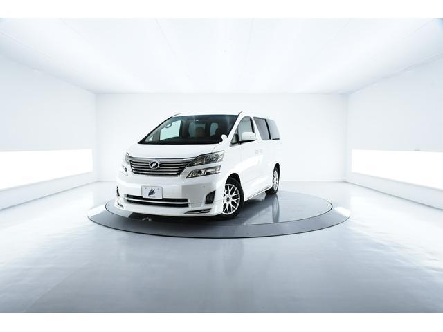 トヨタ 2.4V 両側電動 フリップダウン エアロ HID ナビ